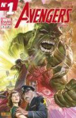 Avengers Universe (revue V1) T18 : Qui a tué Hulk ? (0), comics chez Panini Comics de Aaron, Remender, Waid, Robinson, Pugh, Ribic, Alixe, Bagley, Keith, Fabela, Svorcina, Guru efx, Delgado, Silva, Ross