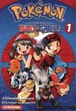 Pokémon la grande aventure  – Rubis et Saphir, T1, manga chez Kurokawa de Kusaka, Yamamoto
