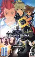 Kingdom hearts II T8, manga chez Pika de Shiro