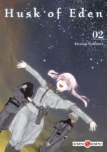 Husk of eden T2, manga chez Bamboo de Kisaragi