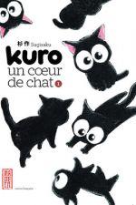 Kuro un coeur de chat T1, manga chez Kana de Sugisaku