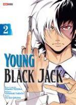 Young Black Jack T2, manga chez Panini Comics de Tezuka, Tabata, Okuma