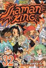 Shaman King T32, manga chez Kana de Takei