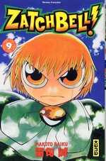 Zatch Bell T9, manga chez Kana de Raiku