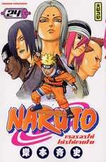 Naruto T24, manga chez Kana de Kishimoto