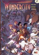 Wondercity T2 : Une ombre sur le collège (0), bd chez Soleil de Gualdoni, Turconi, Tenderini