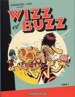 Wizz et Buzz T1, bd chez Delcourt de Winshluss, Cizo