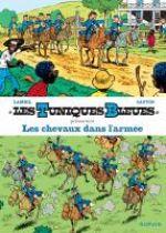 Les Tuniques bleues présentent T2 : Les chevaux dans l'armée (0), bd chez Dupuis de Cauvin, Lambil