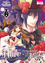 Alice au royaume de joker T3, manga chez Ki-oon de Quinrose, Fujimaru