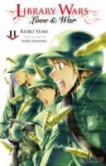 Library wars - Love & war  T11, manga chez Glénat de Yumi, Arikawa