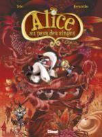 Alice au pays des singes T3 : Livre III (0), bd chez Glénat de Tébo, Keramidas, Torta
