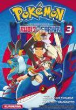 Pokémon la grande aventure  – Rubis et Saphir, T3, manga chez Kurokawa de Kusaka, Yamamoto