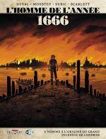 L'Homme de l'année T10 : 1666 (0), bd chez Delcourt de Duval, Moustey, Subic, Smulkowski