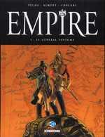 Empire T1 : Le Général fantôme, bd chez Delcourt de Pécau, Kordey, Chuckry
