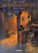 Le grand siècle T1 : Alphonse (0), bd chez Delcourt de Andriveau