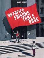 Du papier faisons table rase, bd chez Casterman de Jonquet, Chauzy