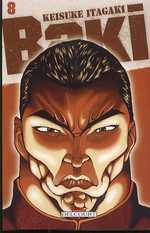 Baki T8, manga chez Delcourt de Itakagi