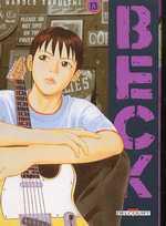 Beck T13, manga chez Delcourt de Sakuishi