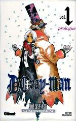 D.Gray-man T1 : Prologue (0), manga chez Glénat de Hoshino