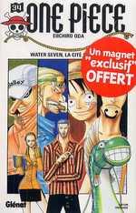 One Piece T34 : Water Seven, la cité sur l'eau (0), manga chez Glénat de Oda