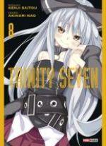 Trinity seven T8, manga chez Panini Comics de Saitô, Nao