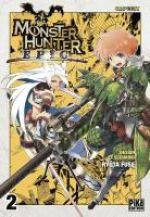Monster hunter Epic T2, manga chez Pika de Fuse, Capcom