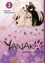 Yanaka - histoires de chats T3, manga chez Komikku éditions de Wakatsuki
