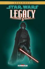Star Wars Legacy – Saison 1, T3 : Les griffes du dragon (0), comics chez Delcourt de Duursema, Ostrander, Anderson