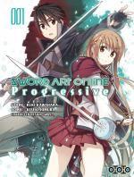 Sword art online - Progressive T1, manga chez Ototo de Kawahara, Himura, Abec