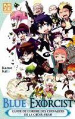 Blue exorcist : Guide book (0), manga chez Kazé manga de Kato