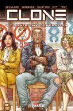 Clone T4 : Quatrième génération (0), comics chez Delcourt de McIntyre, Ginsburg, Schulner, Juan Jose Ryp, Troy