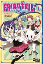 Fairy tail - Blue mistral – Edition Pika, T1, manga chez Pika de Watanabe, Mashima