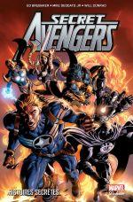 Secret Avengers (vol.1) T1 : Histoires secrètes (0), comics chez Panini Comics de Brubaker, Aja, Lark, Deodato Jr, Conrad, Gaudiano, Beredo, SotoColor