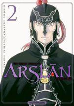 The Heroic Legend of Arslân T2, manga chez Kurokawa de Arakawa, Tanaka