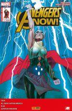 Avengers Now T3 : Lorsque les seigneurs de glace déclarent la guerre (0), comics chez Panini Comics de Duggan, Aaron, Remender, Taylor, Bagley, Dauterman, Cinar, Immonen, Keith, Wilson, Guru efx, Gracia, Almara, Harren