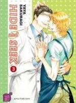 Hide and seek T3, manga chez Taïfu comics de Sakuragi