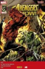 Avengers Now T4 : L'oméga Hulk (0), comics chez Panini Comics de Taylor, Duggan, Aaron, Remender, Immonen, Bagley, Graga, Molina, Dauterman, Gracia, Keith, Wilson, Guru efx