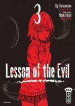 Lesson of the evil T3, manga chez Kana de Kishi, Karasuyama