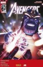 The Avengers (revue) – V 4, T28 : Avant d'être à court de temps (0), comics chez Panini Comics de Kot, Barbiere, Hickman, Walsh, Walker, Caselli, Checchetto, Mossa, Martin jr, Wilson, Forbes