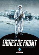 Lignes de front T8 : Enfer blanc sur Leningrad (0), bd chez Delcourt de Pécau, Nenadov, Fernandez, Loyvet