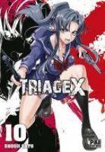 Triage X T10, manga chez Pika de Sato