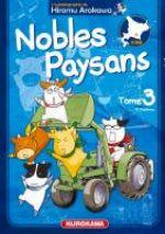 Nobles paysans T3, manga chez Kurokawa de Arakawa