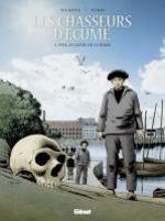 Les Chasseurs d'écume – cycle 2 : Fanch Gloaguen, T5 : 1934, Le crâne de la plage (0), bd chez Glénat de Debois, Fino