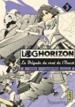 Log Horizon - La brigade du vent de l'ouest  T3, manga chez Kana de Tono, Koyuki