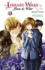 Library wars - Love & war  T13, manga chez Glénat de Arikawa, Yumi