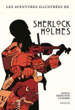 Les aventures illustrées de Sherlock Holmes, comics chez Akileos de Edginton, Culbard