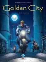 Golden city T11 : Les fugitifs (0), bd chez Delcourt de Pecqueur, Malfin, Schelle