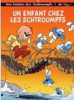 Les Schtroumpfs T25 : Un enfant chez les schtroumpfs (0), bd chez Le Lombard de Diaz Vizoso, Culliford, de Coninck, Culliford