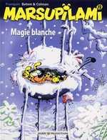 Marsupilami T19 : Magie blanche, bd chez Marsu Productions de Colman, Batem, Cerise