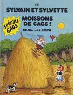 Sylvain et Sylvette T54 : Moisson de gags (0), bd chez Dargaud de Bélom, Pesch, Pesch